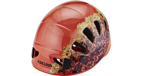 Edelrid Shield II - Casco esquí - naranja/rojo